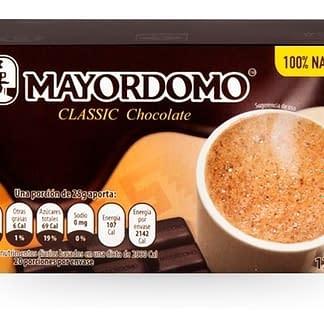 chocolate mayordomo clásico