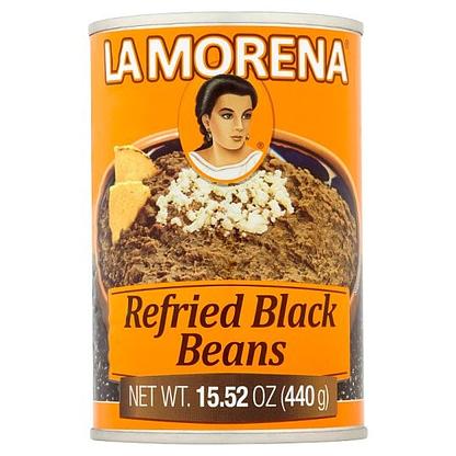 refried black beans la morena 440g