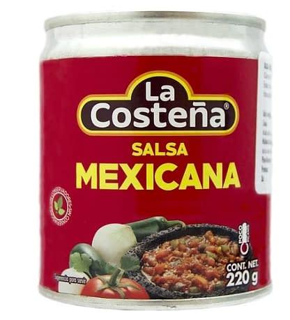 salsa casera mexicana 220g la costeña