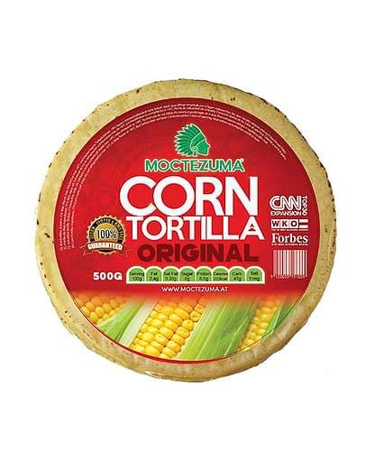 Tortilla Original 500g Moctezuma Foods