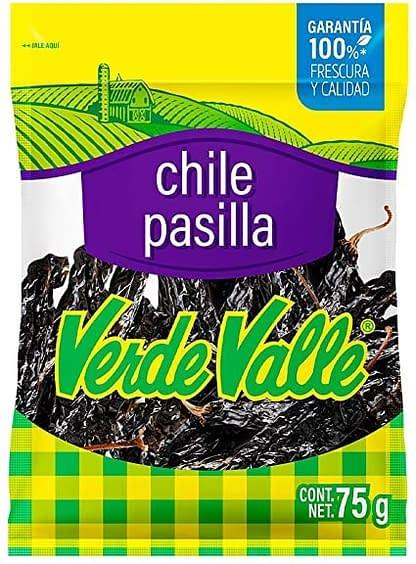 pasilla dried chili 75g