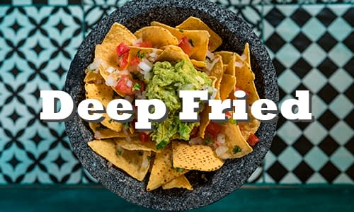 Deep-fried-corn-tortillas