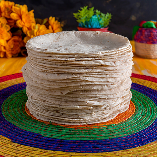 hand made tortillas Moctezuma