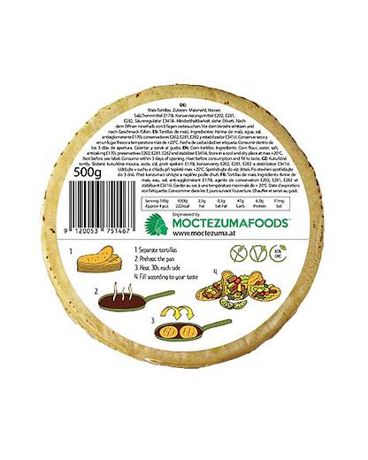 Ambient White Tortilla Moctezuma