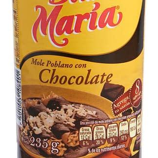 mole poblano con chocolate doña maria