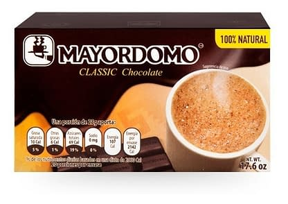 chocolate mayordomo clásico